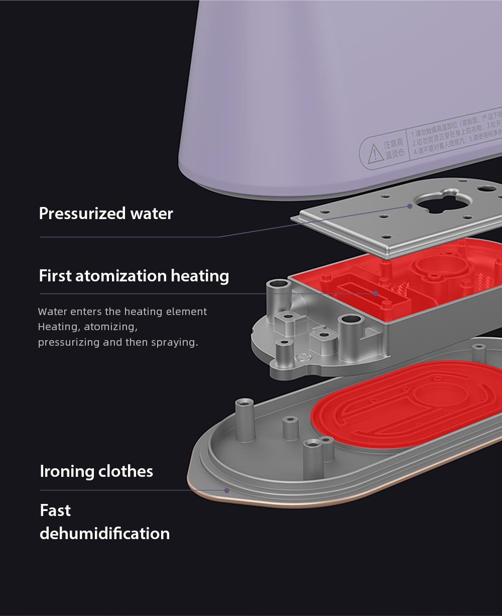 Handheld Garment Steamer  (2)