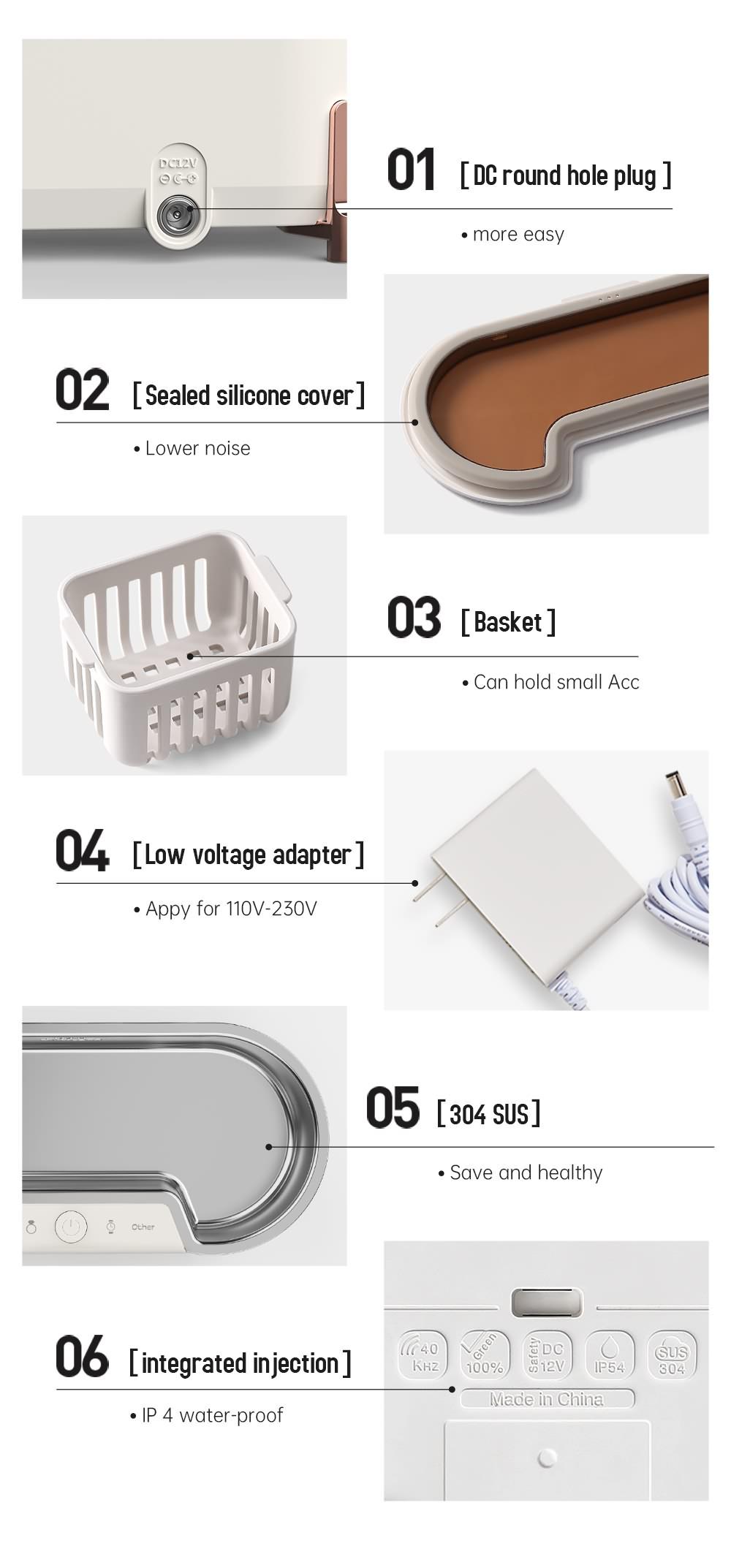 Jewelry Ultrasonic Cleaner (12)