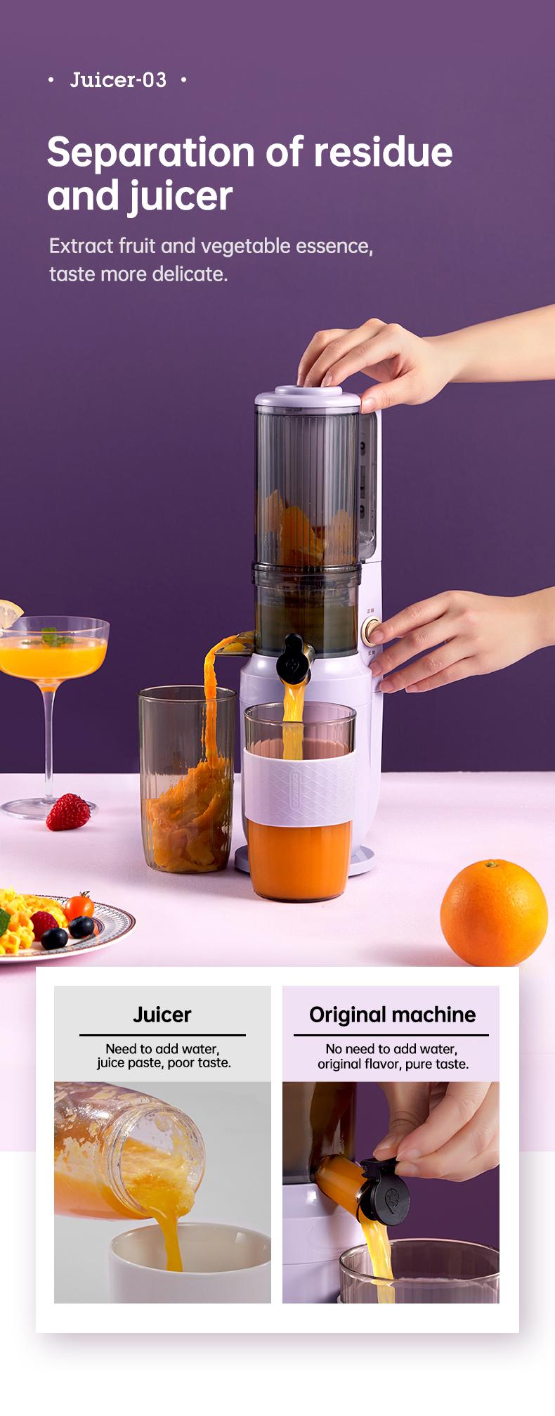slow juicer machine detail 04