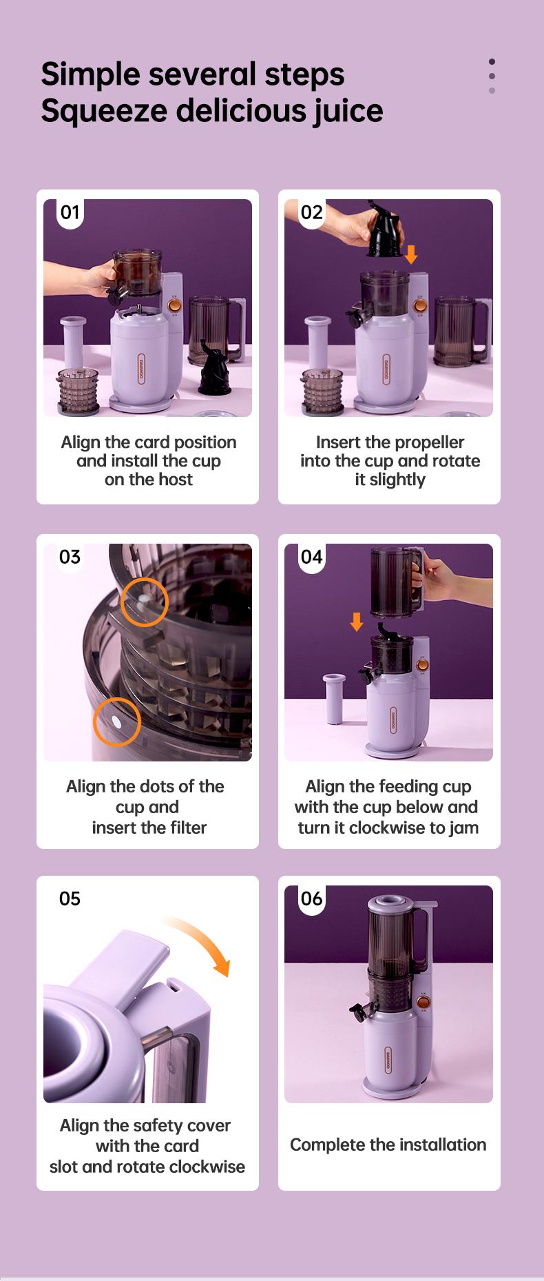 slow juicer machine detail 11